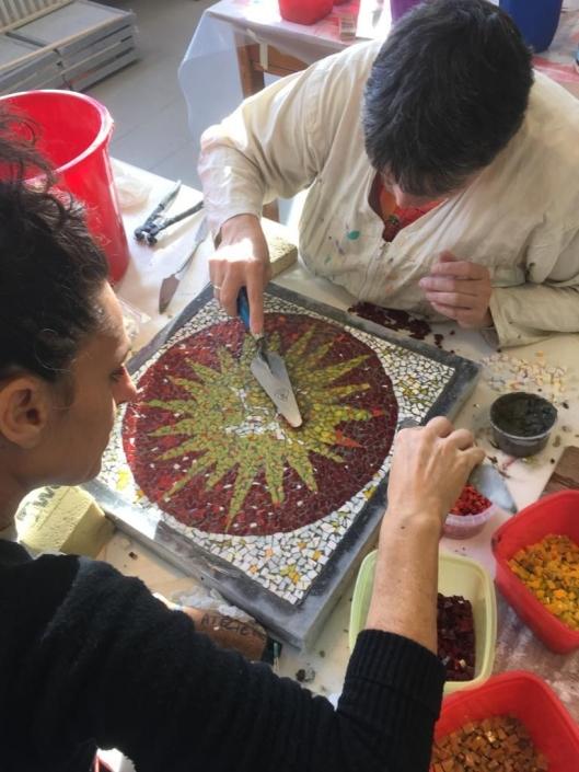 Sterrenweide mosaico