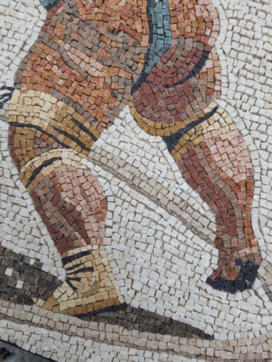 Roman mosaic with a twist