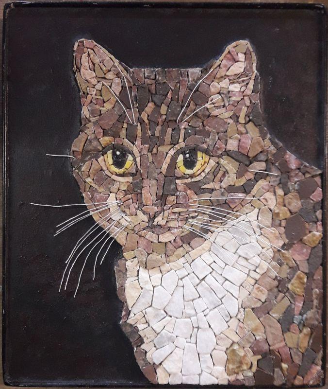 Mosaic portrait animal