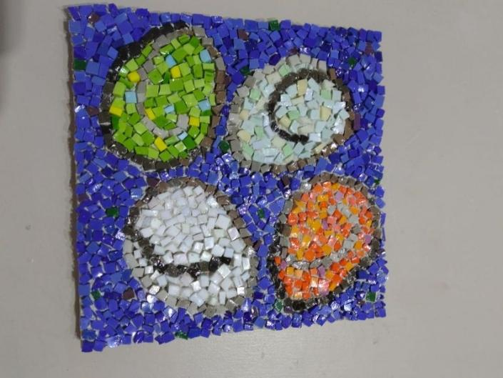 Color theory in mosaic