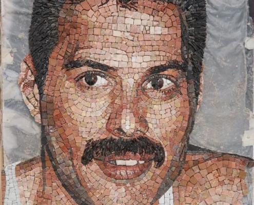 Freddie Mercury portret