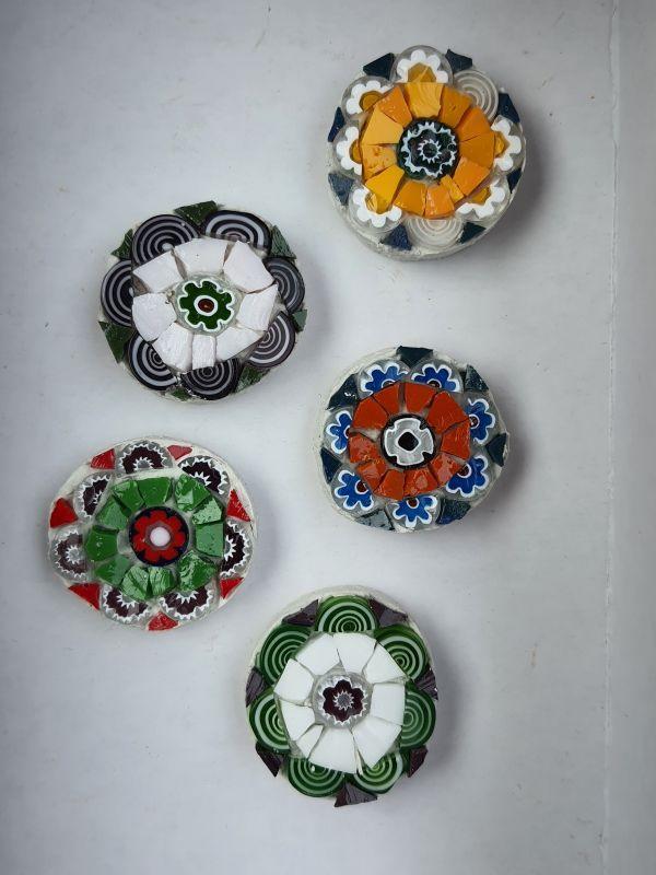 Mosaic magnets