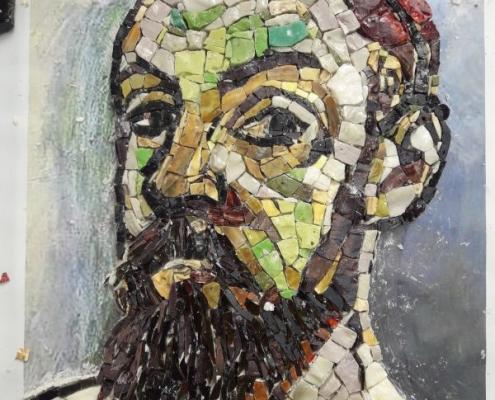 Mosaic potret